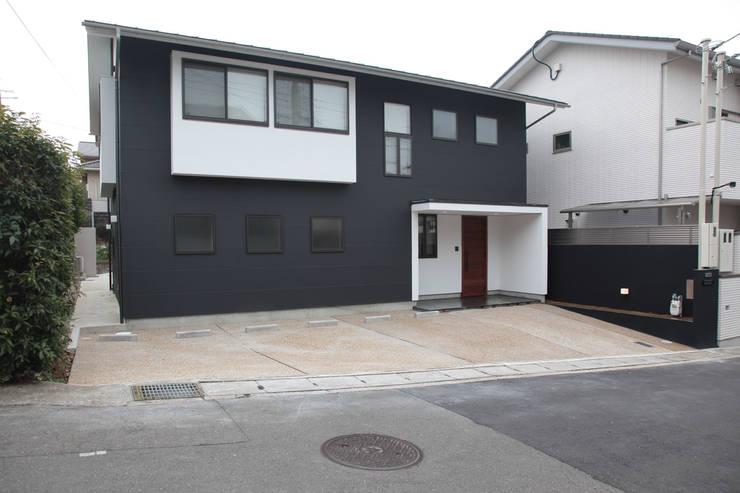منازل تنفيذ 有限会社 起廣プラン 一級建築士事務所 , حداثي