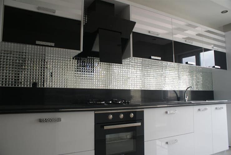 ZECES CAM MOZAİK  – Zeces Cam Mozaik ve Dekorasyon:  tarz Mutfak, Modern