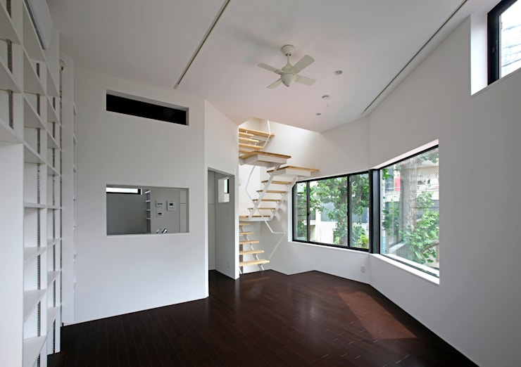 TOKYO TREE HOUSE: アトリエハコ建築設計事務所/atelier HAKO architectsが手掛けたです。