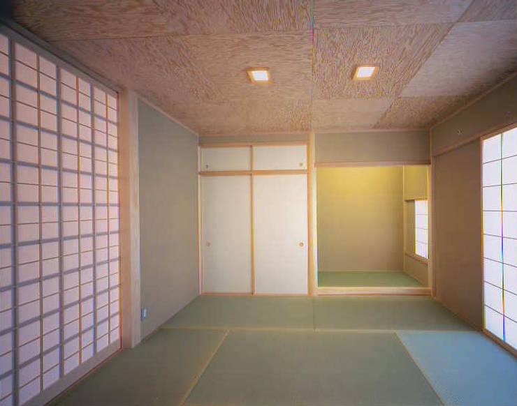 和邇の家(S邸新築工事): 有限会社 起廣プラン 一級建築士事務所が手掛けた和室です。