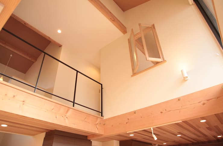 Projekty,  Okna zaprojektowane przez 有限会社 起廣プラン 一級建築士事務所,