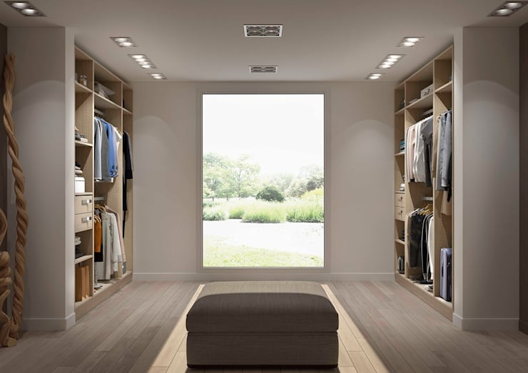 Vestidores y closets de estilo  por Centimetre.com