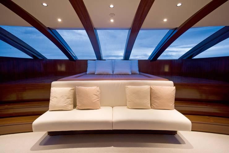 Yacht 72m:  Schlafzimmer von SilvestrinDesign