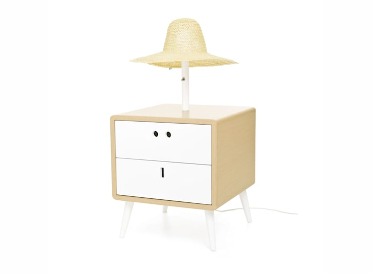 MARIA bedside table (perspective view of the standard option): Casa  por DAM