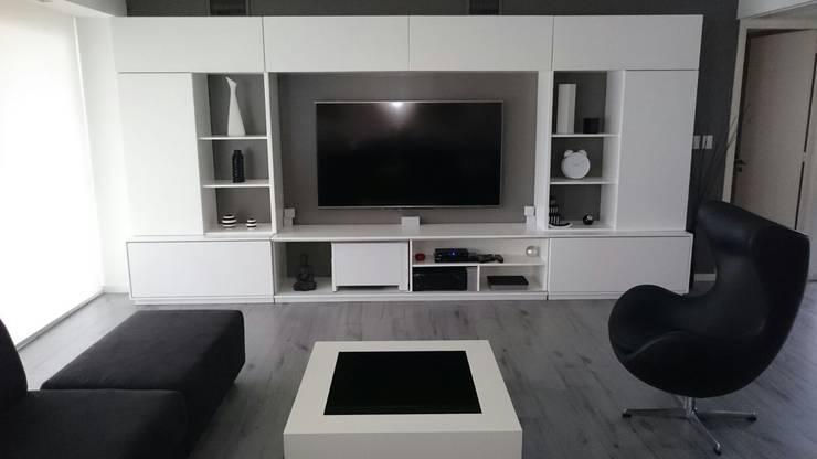 غرفة المعيشة تنفيذ dammuebles