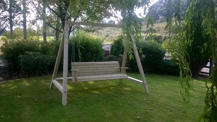 Outdoor Garden Swing:  Garden by NI Climbing Frames