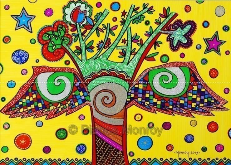 El árbol de tu vida: Arte de estilo  por Bianca Monroy