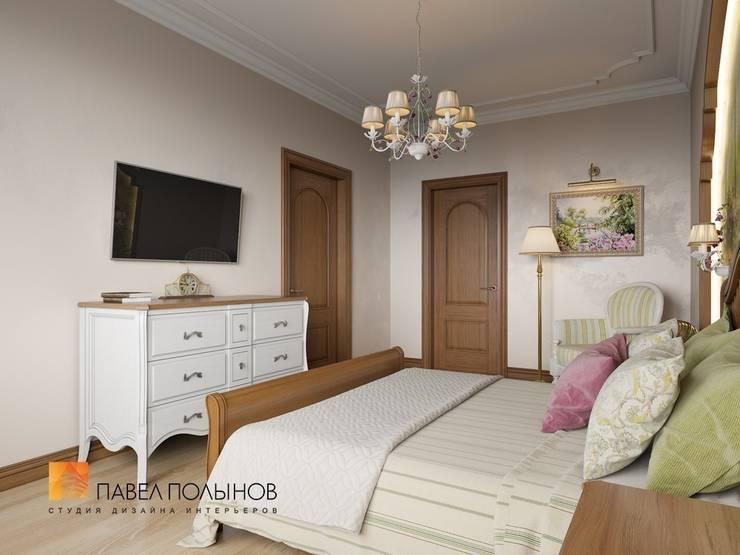 Классический стиль в интерьере квартиры в ЖК «Duderhof Club», 193 кв.м.: Спальни в . Автор – Студия Павла Полынова,