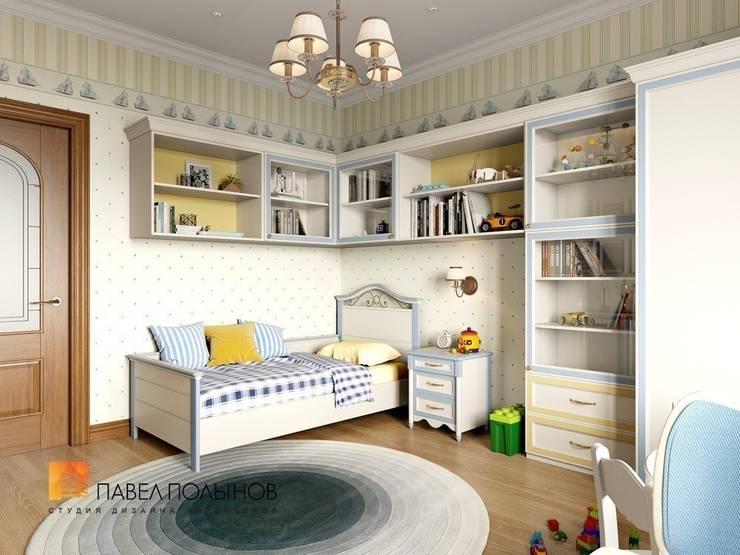 Классический стиль в интерьере квартиры в ЖК «Duderhof Club», 193 кв.м.: Детские комнаты в . Автор – Студия Павла Полынова,