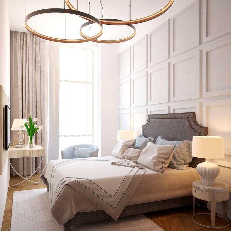 проект спальни: Спальни в . Автор – 3angleproject