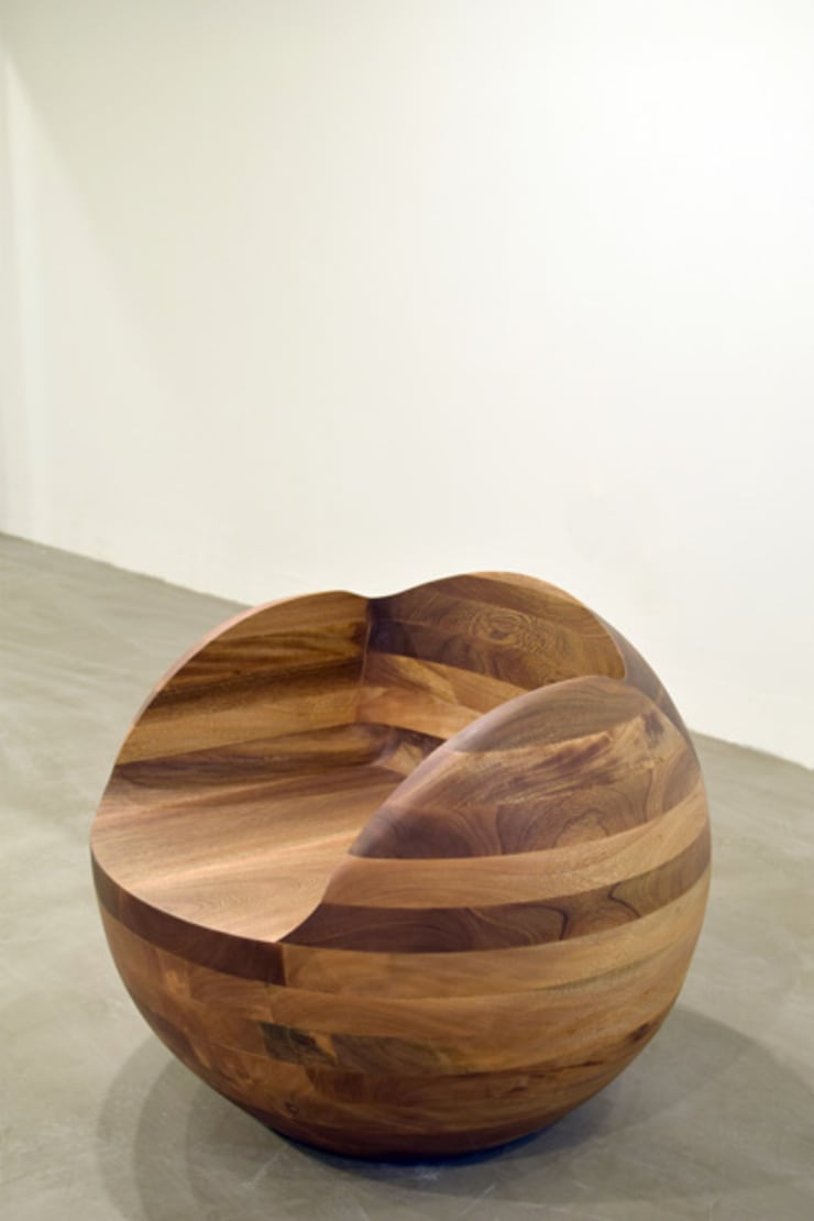 Asiento Esfera: Salas de estilo  por Mediamadera