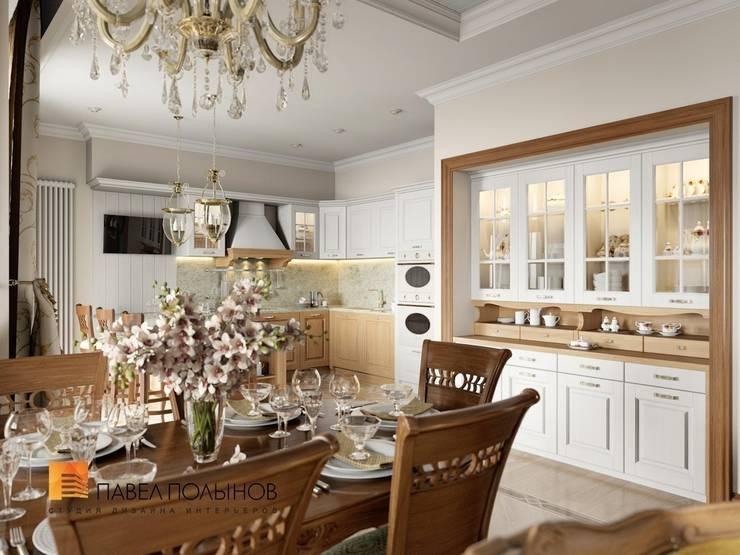 Классический стиль в интерьере квартиры в ЖК «Duderhof Club», 193 кв.м.: Кухни в . Автор – Студия Павла Полынова,