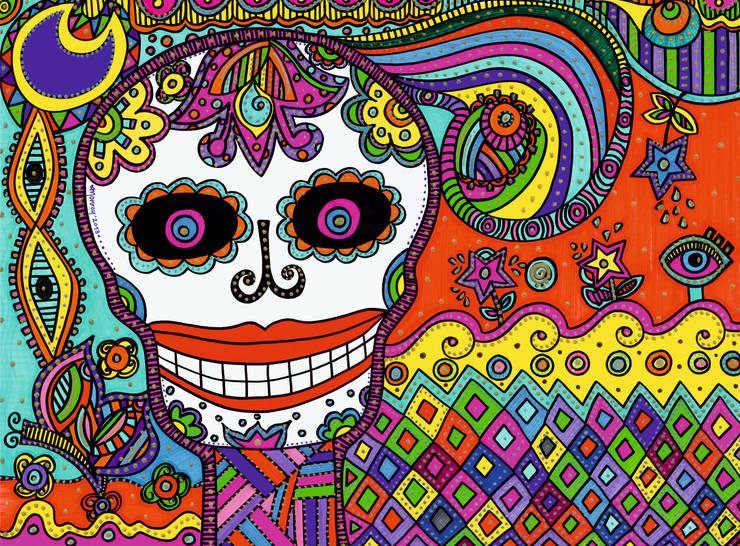 La muerte está de fiesta: Arte de estilo  por Bianca Monroy