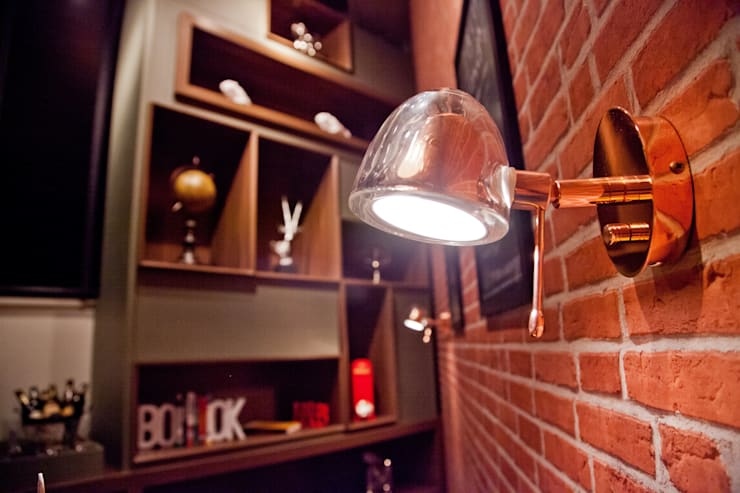 Estar do Cervejeiro: Salas de estar  por NOI Arquitetura