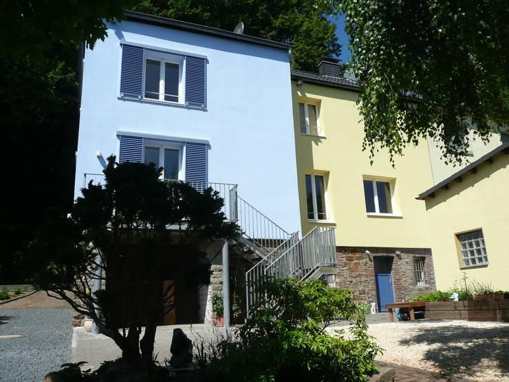 Rückansicht:  Häuser von Architekt Dipl.Ing. Udo J. Schmühl