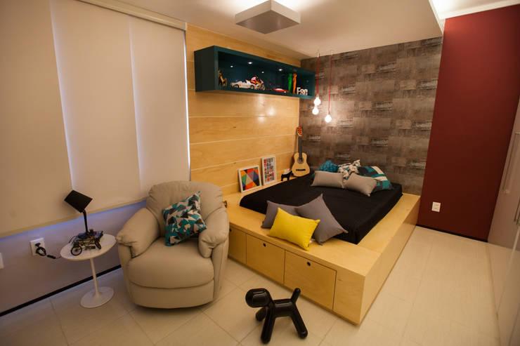 Passo3 Arquitetura:  tarz Yatak Odası