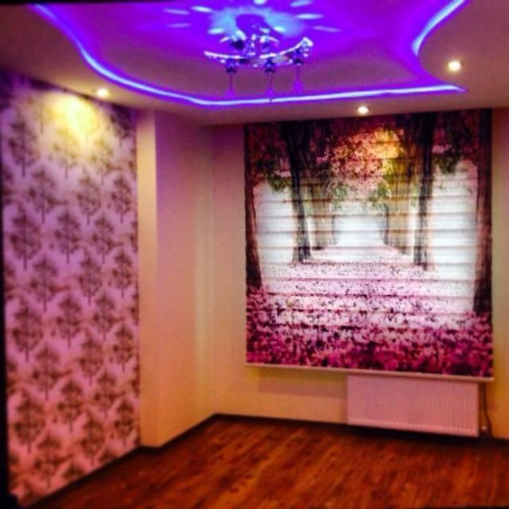 ByTUNAS PERDE – Özel tasarım twin zebra:  tarz Çocuk Odası