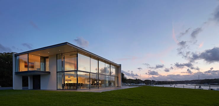 Yachtsman's House:  Houses by The Manser Practice Architects + Designers