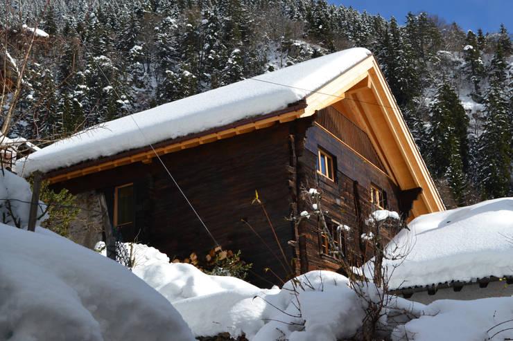 Hausansicht West:  Kleines Haus von André Rösch Architekt