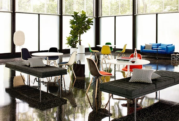 Herman Miller Collection: Salas de estilo  por Herman Miller México