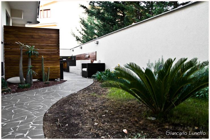 Casas de estilo moderno de Ignazio Buscio Architetto