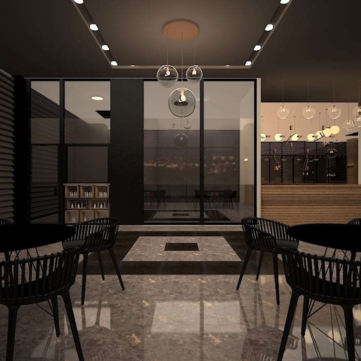 teknogrup design – Nearport Hotel-Lobby:  tarz Oteller