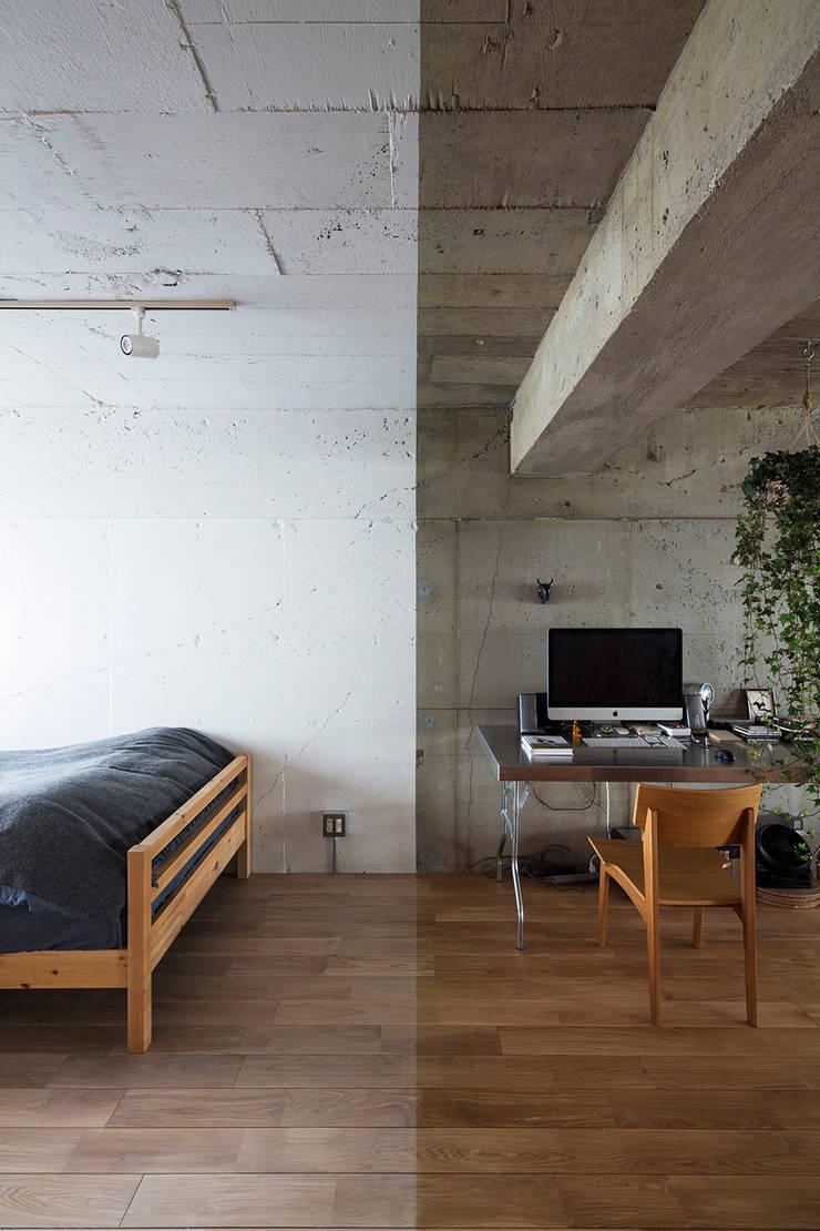 Text: 松島潤平建築設計事務所 / JP architectsが手掛けた壁です。