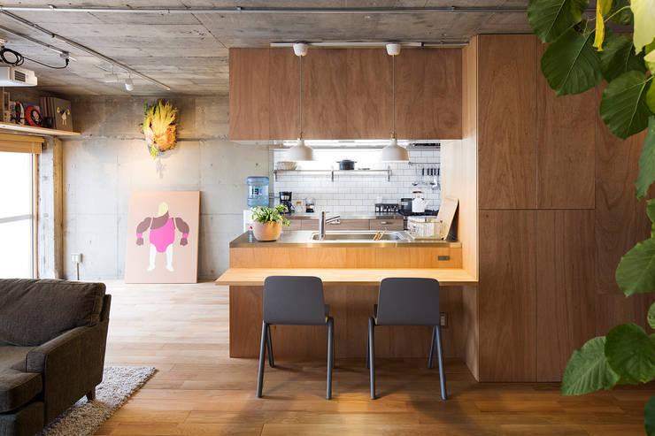 Text: 松島潤平建築設計事務所 / JP architectsが手掛けたダイニングです。