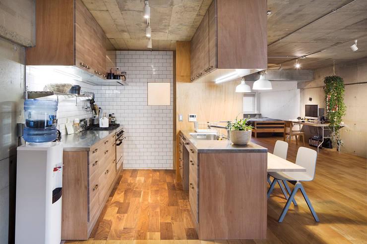 Text: 松島潤平建築設計事務所 / JP architectsが手掛けたキッチンです。