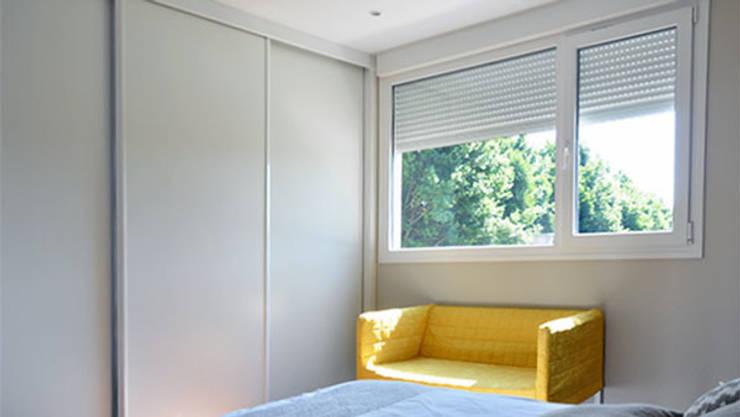 Habitaciones de estilo  por Casas Cube