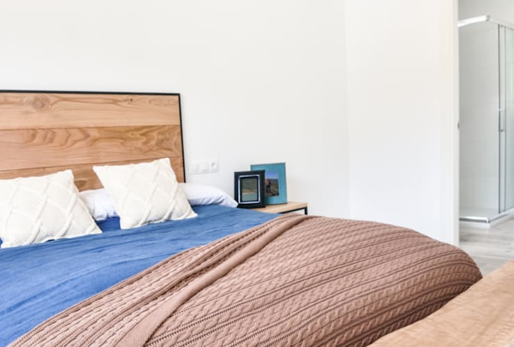 Casas Cube:  tarz Yatak Odası
