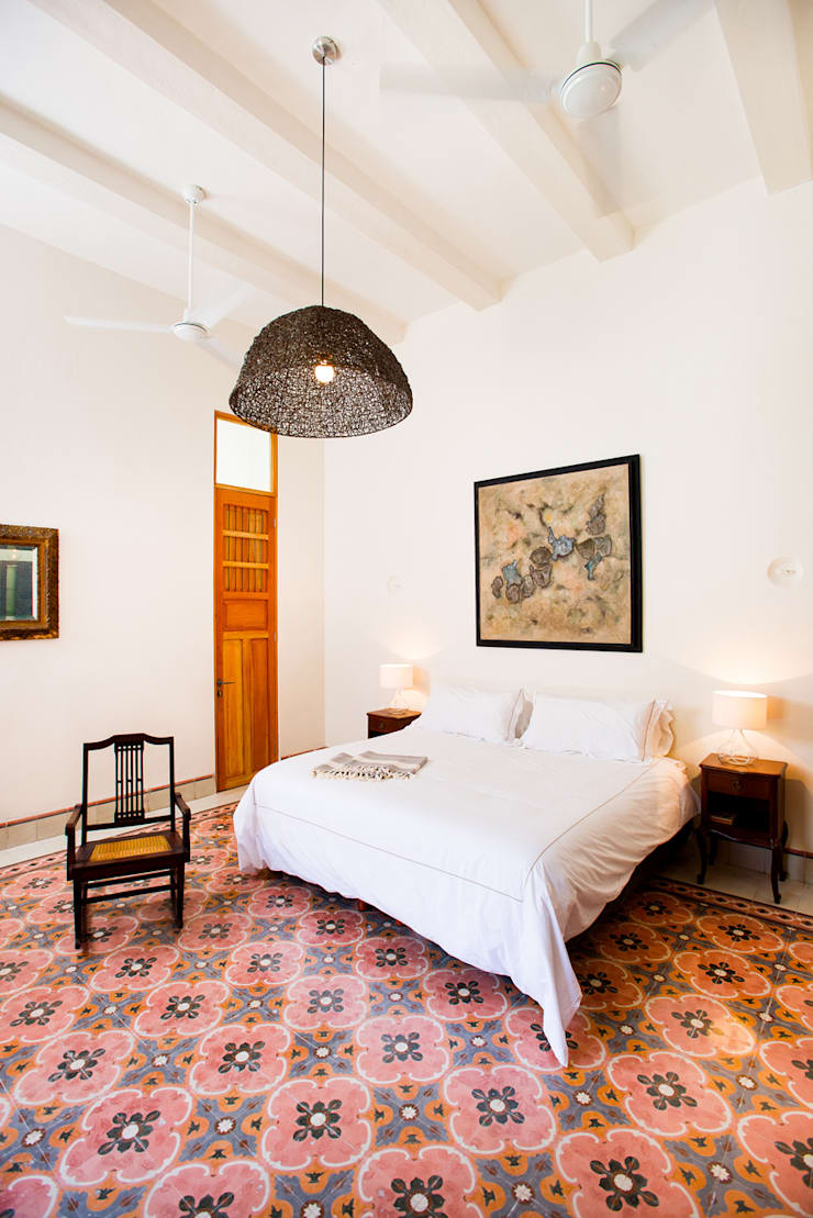 Dormitorios de estilo  de Taller Estilo Arquitectura, Ecléctico