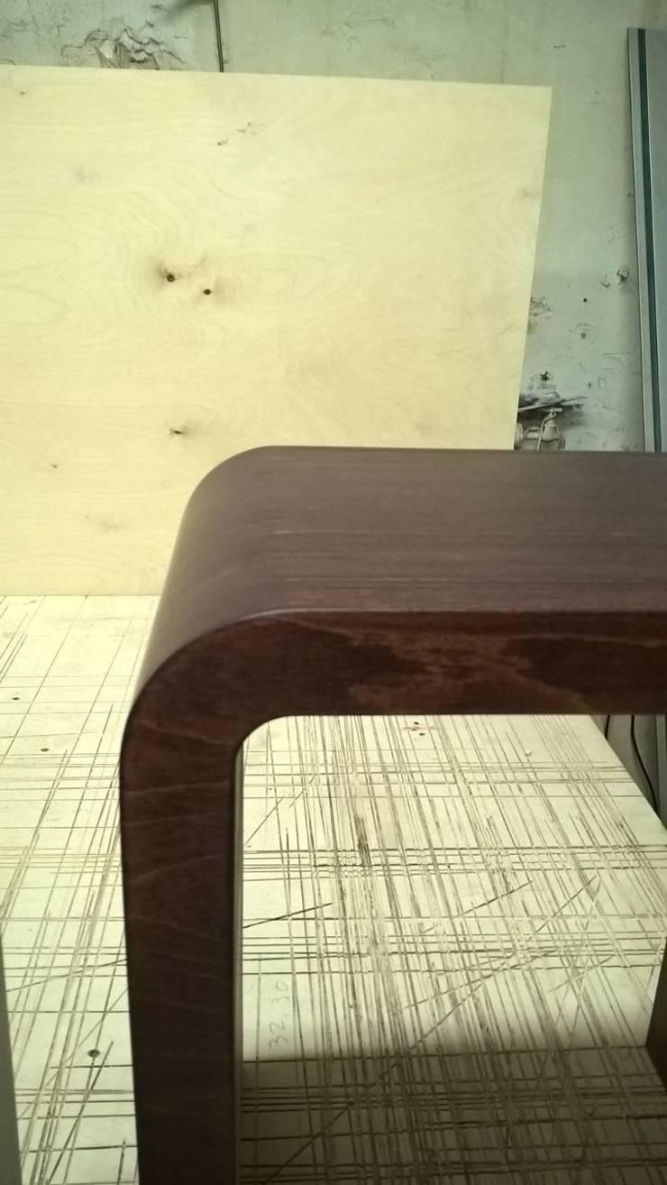 Прикроватная тумба: Спальная комната  в . Автор – Мебельная компания FunEra. Изготовление мебели из фанеры на заказ. http://www.fun-era.ru