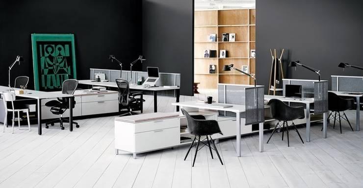 Living Office: Oficinas y tiendas de estilo  por Herman Miller México