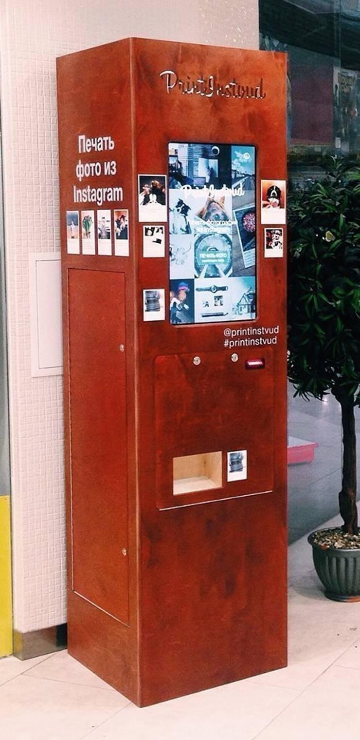 Вендинговый автомат из фанеры: Офисные помещения и магазины в . Автор – Мебельная компания FunEra. Изготовление мебели из фанеры на заказ. http://www.fun-era.ru