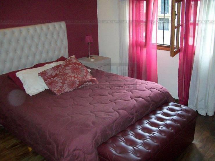 San Lorenzo y Alsina: Dormitorios de estilo  por Uno Propiedades,Moderno