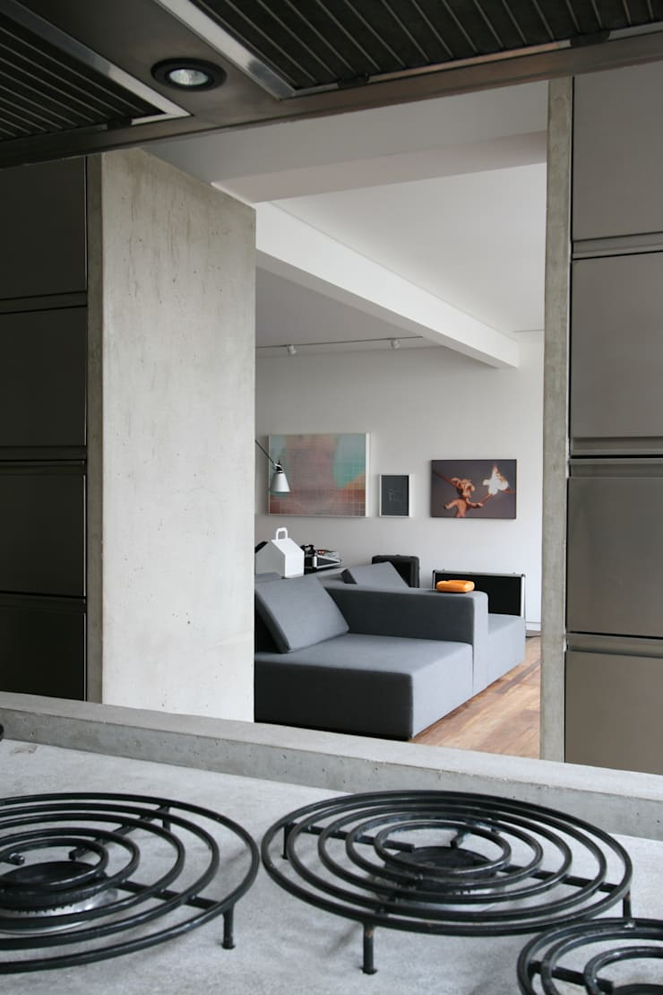 APARTAMENTO BELA CINTRA:   por Calio design + interiores =