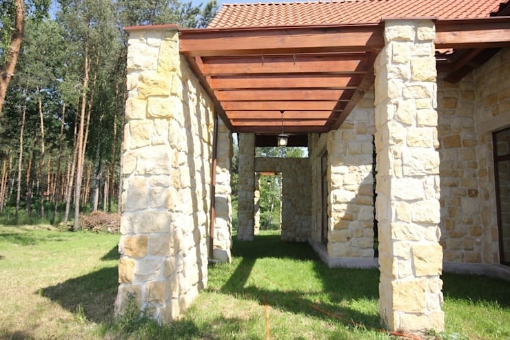 Dom pod Grodziskiem: styl , w kategorii  zaprojektowany przez ART-TU Pracownia Architektury