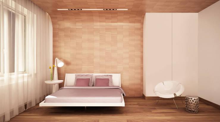 Bedroom by Студия Максима Рубцова.