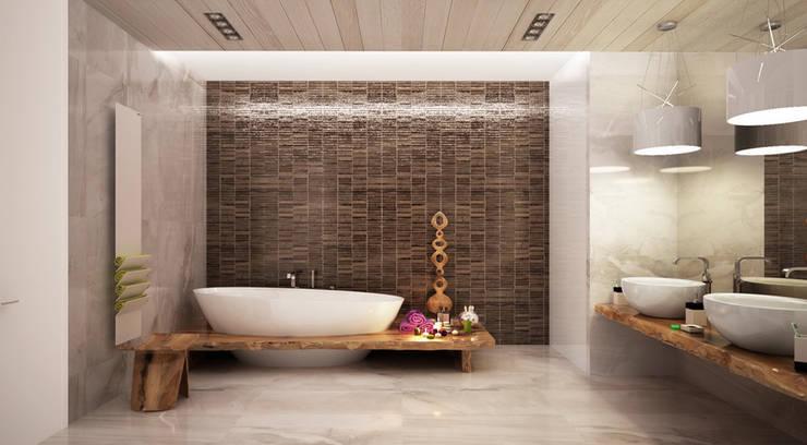 Bathroom by Студия Максима Рубцова.
