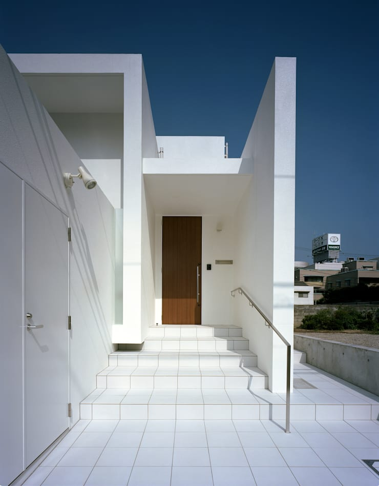 横川の家 モダンな 家 の 中本一哉建築設計事務所 モダン