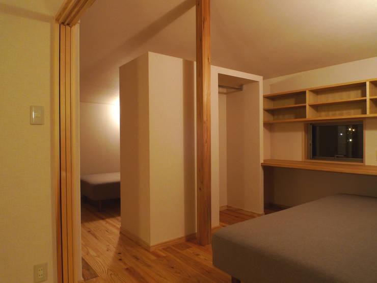 小さな平屋の家: FAD建築事務所が手掛けた子供部屋です。