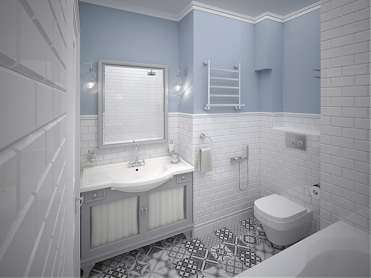 http://decor-design.me/: Ванные комнаты в . Автор – Decor&Design
