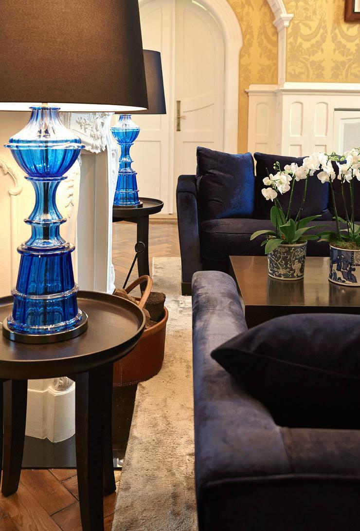 Living room by Julia Rafflenbeul Interior Architecture
