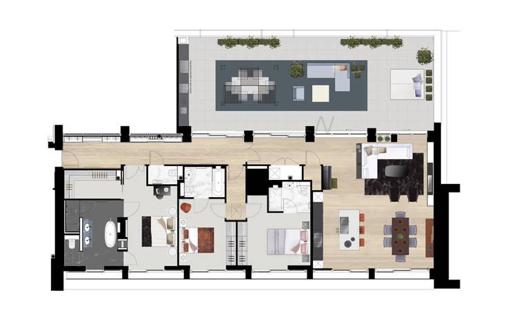de estilo  por The Manser Practice Architects + Designers