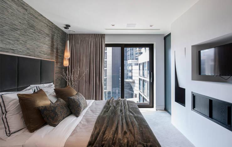 Dormitorios de estilo  por The Manser Practice Architects + Designers