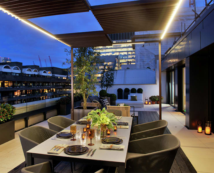 Terrace by The Manser Practice Architects + Designers