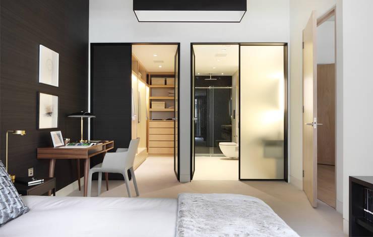 Projekty,  Sypialnia zaprojektowane przez The Manser Practice Architects + Designers