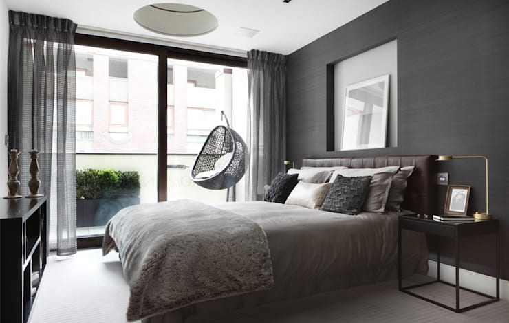 modern Bedroom by The Manser Practice Architects + Designers
