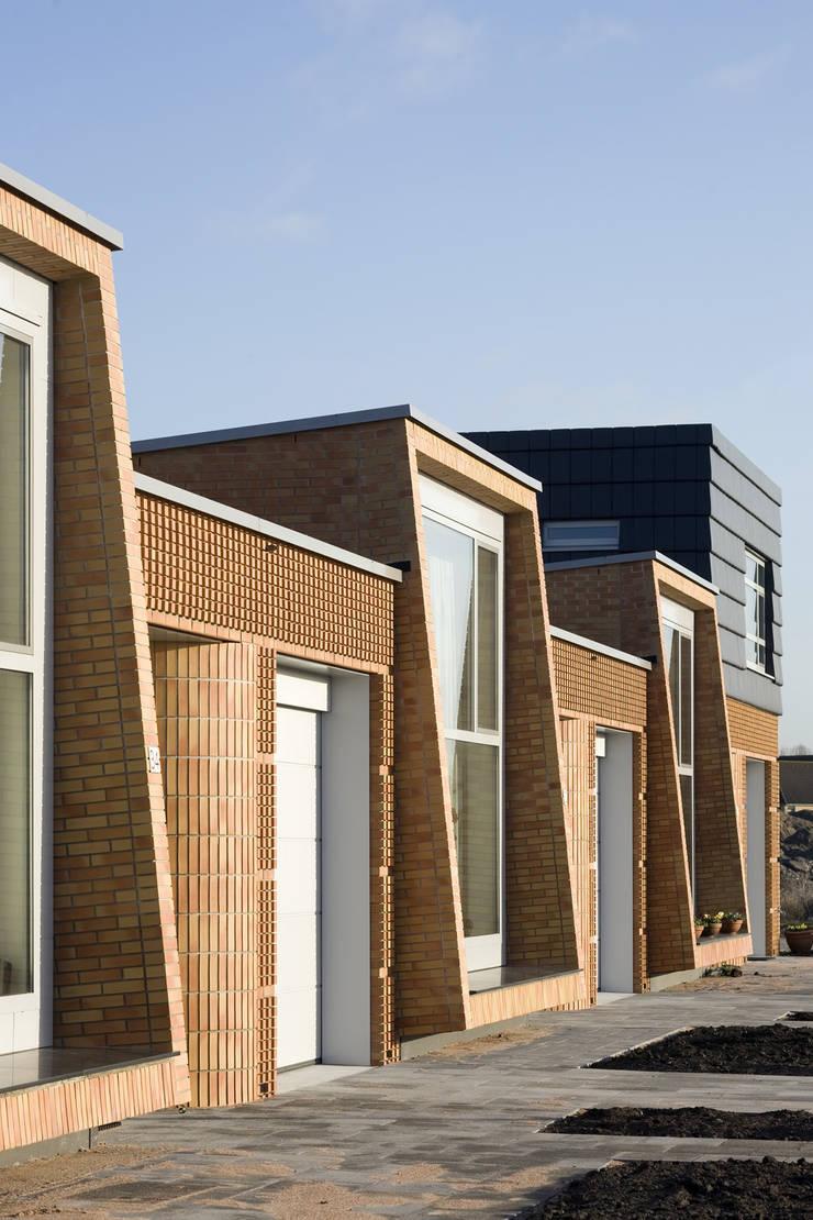 Weidevenne, Purmerend:  Huizen door HM Architecten, Modern
